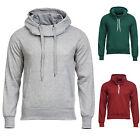 Kapuzenpullover Sweatshirt Hoher Kragen Pullover Hoodie Schwarz/Grau/Grün NEU