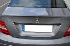 Mercedes AMG W204 Classe C Porte de coffre levier Capot Noir Mat