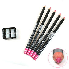 5 PEARL PINK ITALIA EYE LINER PENCIL + FREE SHARPENER LIP EYELINER 5set(1007)