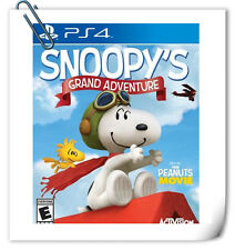 PS4 SONY PLAYSTATION Games The Peanuts Movie Snoopy's Grand Activision Platform