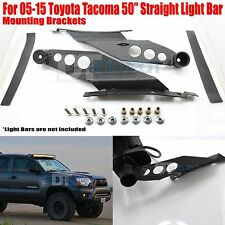 05-15 Toyota Tacoma 50 Inch Straight LED Light Bar Mounting Brackets Holder