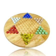 CHINESE CHECKERS - Marbles - Family board game = Family Fun