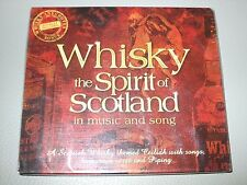 Whisky (The Spirit of Scotland in Music and Song)(CD) Brand New & Sealed