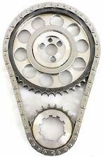 Chevy SBC 350 Double Roller 9 Keyway Billet Steel Timing Chain Kit (Tor/Brg)