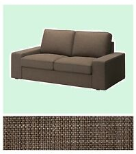 "IKEA Kivik Loveseat 2-Seat Isunda BROWN""Tweed""Cover Sofa(+Mates)Slipcover NIP"