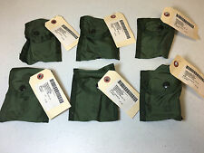 LOT OF 6 MILITARY ISSUED COMPASS / FIRST AID POUCHES OD GREEN ALICE LC-1 NWT