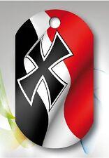 Kette Anhänger Germany Deutschland Deutsches Reich Kreuz Fahne Flagge Flag
