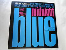 KENNY BURRELL MIDNIGHT BLUE JAPAN BLUE NOTE LP Stanley Turrentine
