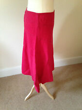 Next cerise waterfall hem Aline skirt size 12