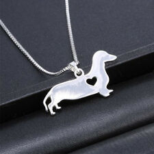Fashion animal shaped stainless steel pendant necklace dog jewelry popular