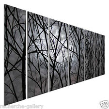 Moon Light Abstract Metal Wall Art by Justin Strom Modern Home Decor
