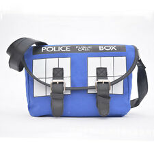 Doctor Who Police Box Satchel Schoolbag Cross Body Messenger Bag Versipacks