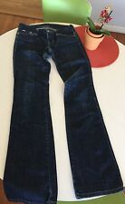 Authentic JOES JEANS Premium BOOT Cut Dark Blue Distressed Woman's size W 26 L31