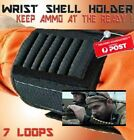 Universal Wrist Band Buttstock Shell Ammunition Round Holder Carrier Hunting NEW
