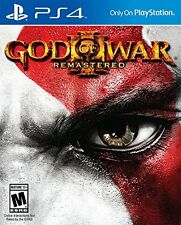 God of War 3 Remastered - PlayStation 4 Brand New Ps4 Games Sony Factory Sealed