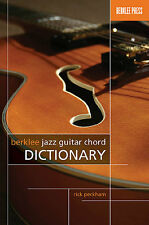 Rick Peckham Berklee Jazz Guitar Chord Dictionary Learn to Play Pop Music Book