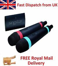 Official Wireless SingStar Playstation PS 2 3 4 Mic Microphone Singing Karoake