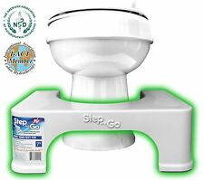 """Toilet Stool for Squatting Step and Go® Potty Stool: 7"""" NEW"""