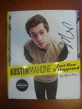 AUTOGRAPHED / SIGNED Austin Mahone Just How It Happened Exclusive Photobook 2014