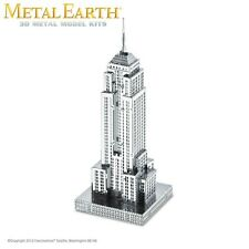 Fascinations Metal Earth Empire State Building Laser Cut 3D Model