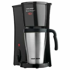 New Black & Decker DCM18S Brew 'n Go Personal Coffeemaker with Travel Mug