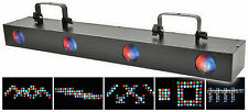 QTX quadflower 4 Lentes Led Moonflower Luz Efecto amplia Discoteca Dj Iluminación Dmx