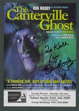SIGNED Ron Moody. 'THE CANTERVILLE GHOST' Manchester Opera House   ad.75