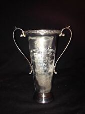 1929 Chestnut Hill Horse Show Pony Jumping Loving Cup Trophy Chestnut Hill Ma