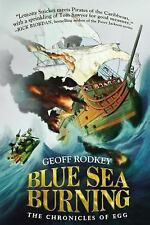 Blue Sea Burning (The Chronicles of Egg)-ExLibrary