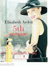 PUBLICITE ADVERTISING 096  1998  Elisabeth Arden parfum femme 5th avenue