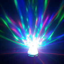 Colorful Auto Rotating RGB LED Bulb Stage Light Party Disco Lamp Home lighting A