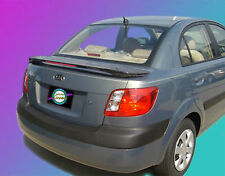 UNPAINTED SPOILER FOR A KIA RIO 4-DOOR 2006-2011 CUSTOM STYLE