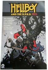 SDCC 2016   HELLBOY B.P.R.D 1953 /  HELLBOY In Hell   2 Sided Poster 11 x 17