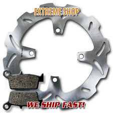 Kawasaki Rear Stainless Steel Brake Rotor + Pads KX 125 & KX 250 (2003-2008) NEW