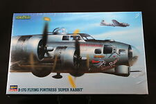 XM125 HASEGAWA 1/72 maquette avion 04066 B-17G Flying Fortress Super Rabbit