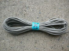 """Tent Pole Elastic Replacement Cord  1/8"""" x 31 ft  Silver Tent Pole Shock Cord"""
