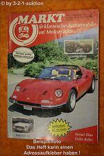 Oldtimer Markt 9/87 VW Käfer Ferrari Dino Ford 12 M