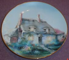 The Hamilton Collection Collectors Plate LULLABYE COTTAGE