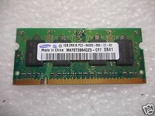 NEW Samsung 1GB 2Rx16 PC2-6400S-666-12-A3 Laptop Memory  M470T2864QZ3-CF7