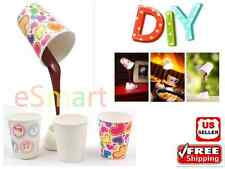 DIY LED Coffee Cup LED Light Desk Table Lamp USB Energy Saving light Kit Gift