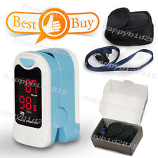 Led Fingertip Pulse Oximeter, Spo2 Monitor,case,Lanyard,HOT SALE