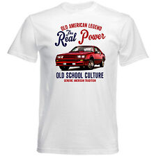 VINTAGE AMERICAN CAR FORD MUSTANG GT - NEW COTTON T-SHIRT
