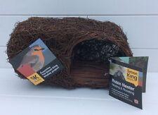Wildlife World Simon King Designed Brushwood Robin/Bird Garden Nester 14x25x13cm