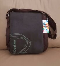 Desigual men crossbody messenger brown bag new with tags