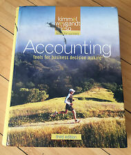 ACCOUNTING-Tools For Business Decision Making 3rd Edition HARDCOVER