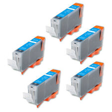 5 CYAN Replacement Printer Ink for CLI-8 Canon iP6600D iP6700D iP3300 iP3500