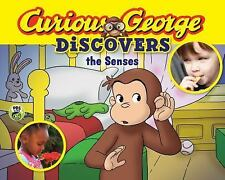 Curious George Discovers the Senses (science storybook)-ExLibrary