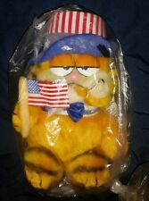 "9"" NWT R. DAKIN & CO GARFIELD CAT UNCLE SAM JULY 4 1978, 1981 JIM DAVIS #31-0309"