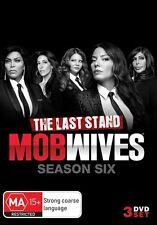 Mob Wives : Season 6 (DVD, 2016, 4-Disc Set) (Region 4) Aussie Release