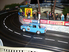 Carrera Digital 132 Umbau Scalextric SCX Renault R8 Rally Monte Carlo Slot car